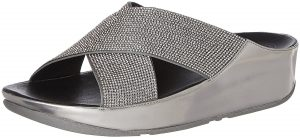 10- FitFlop™ Crystall Slide Womens Sandals