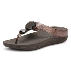 3- Fitflop Women's Luna Pop Open-Toe Sandals