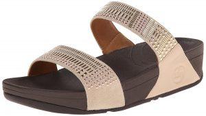 5- FitFlop Women's Aztec Chada Slide Fashion Sandals